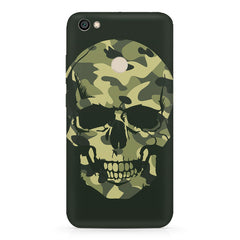 Military Skull Print Xiaomi Mi Y1 hard plastic printed back cover