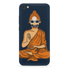 Funny Meditating Avatar of a skull Xiaomi Mi Y1 hard plastic printed back cover