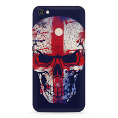 Skull with a red and white cross Xiaomi Mi Y1 hard plastic printed back cover