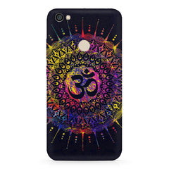 Rangoli Design with OM inscribed in the middle Xiaomi Mi Y1 hard plastic printed back cover