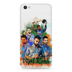 Virat Kohli over the years collage Design  Xiaomi Mi Y1 hard plastic printed back cover