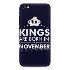 Kings are born in November design    Xiaomi Mi Y1 hard plastic printed back cover
