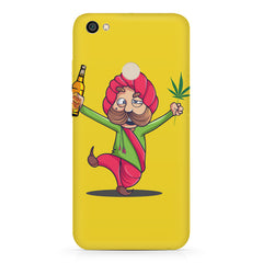 Sardar dancing with Beer and Marijuana  Xiaomi Mi Y1 hard plastic printed back cover