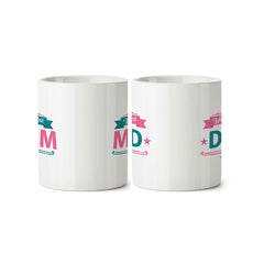 Best mom and best dad gifts. Gifts for mom dad anniversary. Printed Coffee Mugs