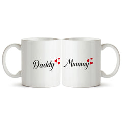 Love you mummy/daddy. Gifts for mom and dad Printed Coffee Mugs