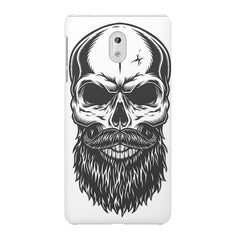 Skull with the beard  design,  Nokia 6  printed back cover