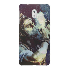 Smoking weed design Nokia 6  printed back cover