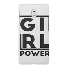 Girl power deisgn Nokia 6  printed back cover
