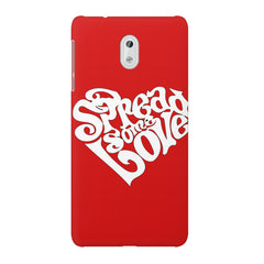 Spread some love design Nokia 6  printed back cover