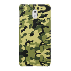 Camoflauge army color design Nokia 6  printed back cover
