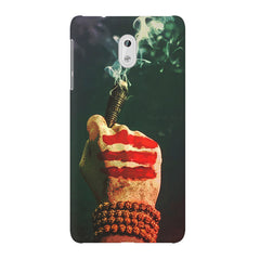 Smoke weed (chillam) design Nokia 6  printed back cover
