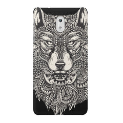 Fox illustration design Nokia 6  printed back cover