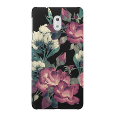 Abstract colorful flower design Nokia 6  printed back cover
