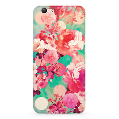 Floral  design,  Oppo R10 Plus  printed back cover