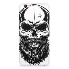 Skull with the beard  design,  Oppo R10 Plus  printed back cover