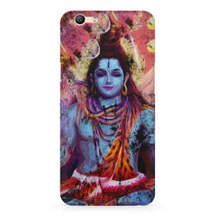 Shiva painted design Oppo R10 Plus  printed back cover