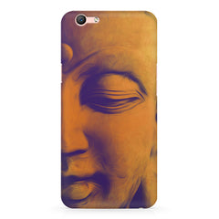 Peaceful Serene Lord Buddha Oppo R10 Plus  printed back cover