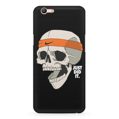Skull Funny Just Did It !  design,  Oppo R10 Plus  printed back cover