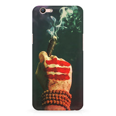 Smoke weed (chillam) design Oppo R10 Plus  printed back cover