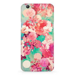 Floral  design,  Oppo F5  printed back cover