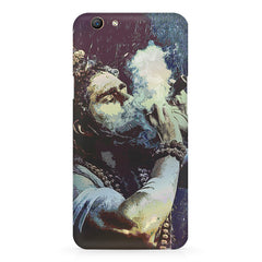 Smoking weed design Oppo F5  printed back cover