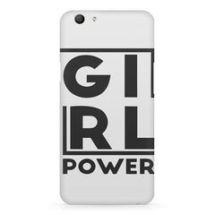 Girl power deisgn Oppo F5  printed back cover