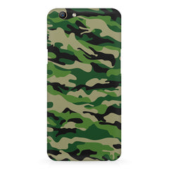 Military design design Oppo F5  printed back cover