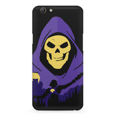 Evil looking skull design Oppo F5  printed back cover