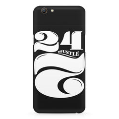 Always hustle design Oppo F5  printed back cover