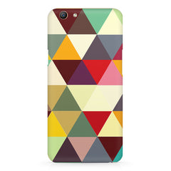 Colourful pattern design Oppo F5  printed back cover