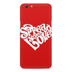 Spread some love design Oppo F5  printed back cover