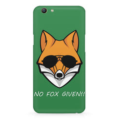 No fox given design Oppo F5  printed back cover
