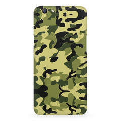 Camoflauge army color design Oppo F5  printed back cover