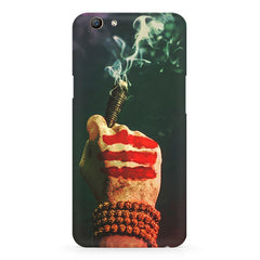 Smoke weed (chillam) design Oppo F5  printed back cover