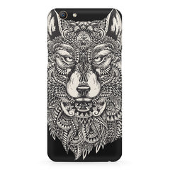 Fox illustration design Oppo F5  printed back cover