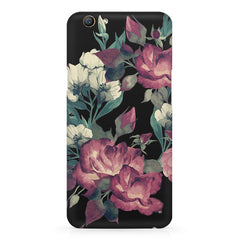 Abstract colorful flower design Oppo F5  printed back cover