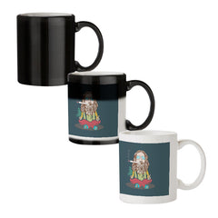 Smoking high design black magic mugs| Design appears when hot water is poured
