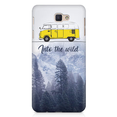 Into the wild for travel Wanderlust people Samsung Samsung J7 2017  printed back cover