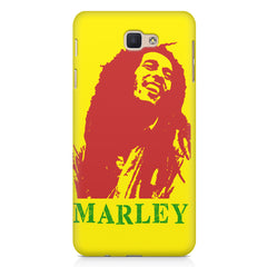 Red Bob Marley being high Samsung Samsung J7 2017  printed back cover