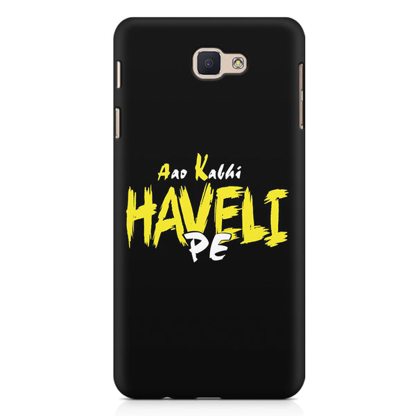 Aao kabhi haveli pe  design,  Samsung On7 2016   printed back cover