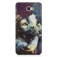 Smoking weed design Samsung On7 2016   printed back cover