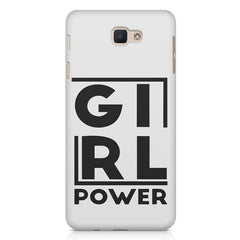 Girl power deisgn Samsung On7 2016   printed back cover