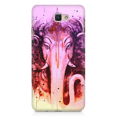 Lord Ganesha design Samsung On7 2016   printed back cover