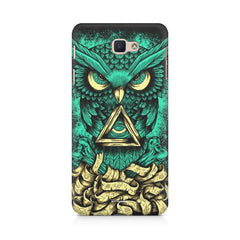 Owl Art design,  Samsung Samsung J7 2017  printed back cover