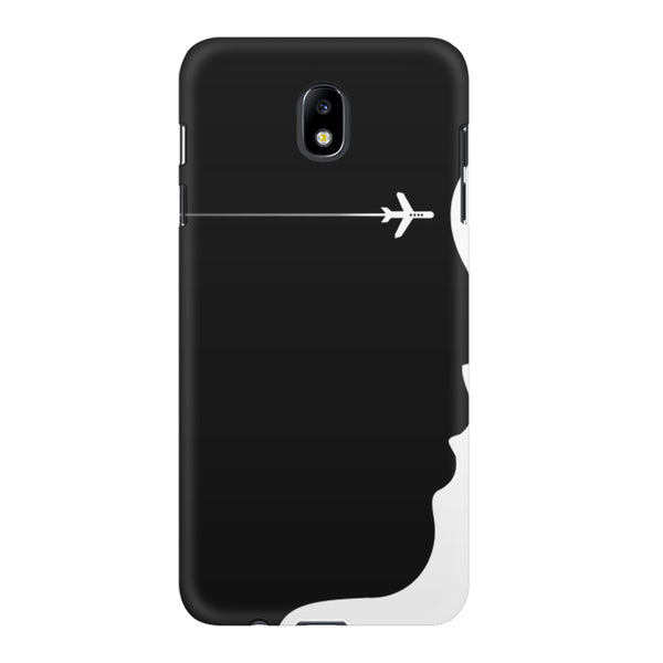 A vision to fly Samsung Samsung J7 Pro  printed back cover