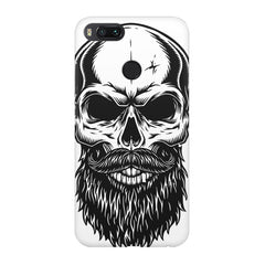 Skull with the beard  design,  Xiaomi Mi A1  printed back cover