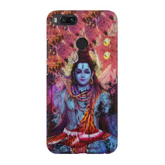 Shiva painted design Xiaomi Mi A1  printed back cover