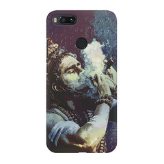 Smoking weed design Xiaomi Mi A1  printed back cover