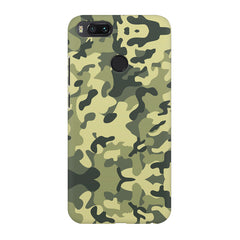 Camoflauge army color design Xiaomi Mi A1  printed back cover