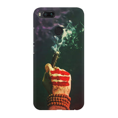 Smoke weed (chillam) design Xiaomi Mi A1  printed back cover